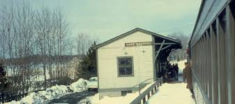 Image result for old lean-to shed by train tracks