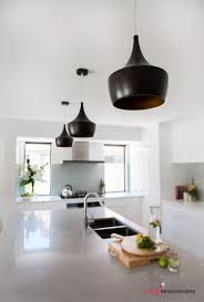Feature Lights These Black Feature Lights Are Gorgeous In This Concrete And