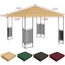 garden gazebo patio canopy 10 x 10