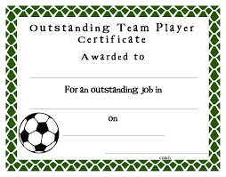 soccer awards templates soccer award certificates template kiddo shelter blank