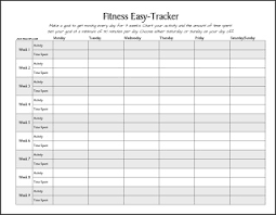 31 Exhaustive Weight Loss Challenge Tracking Chart
