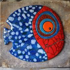 <b>Керамическое панно</b> «Пятнистая Рыба» - Керамика, рыба ...
