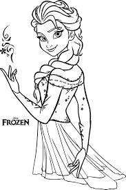 Grab a box of crayons and click below to print your free frozen coloring sheets featuring anna, elsa and olaf. Elsa Coloring Pages Coloring Rocks