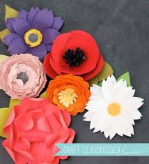 Paper Flower Punches Diy Paper Flowers Paper Flower Crafts