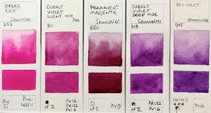 Sennelier Ink Color Chart Jane Blundell Artist Sennelier Watercolours Full Range