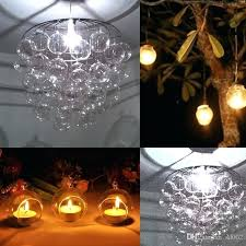 candle tray chandelier