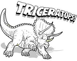 Small Picture To Print Triceratops Coloring Page 20 For Coloring for Kids with