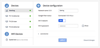 Change your Wi-Fi network name or password - Google Fiber Help