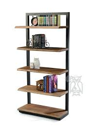... Large size of Distressed Wood And Metal Bookcase Rustic Wood And Metal  Bookshelf Wood And Metal ...
