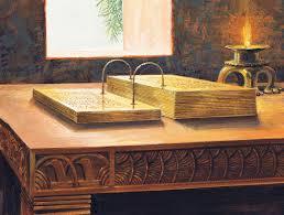 gold plates replica book mormon