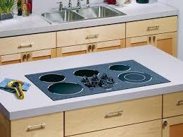 laminate countertop and range