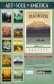 National Parks Posters Anderson Design Group National Parks Posters Deluxe Zebrapublishing