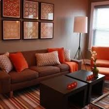 Living Room Decorating Ideas On A Budget   Living Room Brown And Orange  Design, Pictures Design Ideas