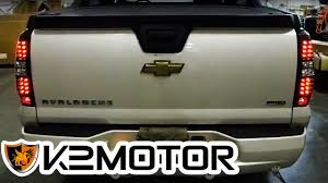 K2 MOTOR INSTALLATION VIDEO: 2007 AVALANCHE LED TAILLIGHTS - YouTube
