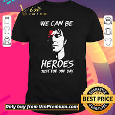 Pretty David Bowie we can be Heroes ...