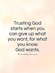 Trust In God Quotes