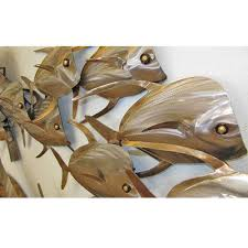 metal fish art metal wall decoration