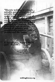 Welding Quotes Extraordinary A History Of Welding Web Site