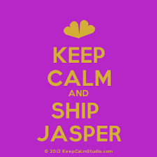 Keep Calm and Ship Jasper design on t shirt poster mug and many