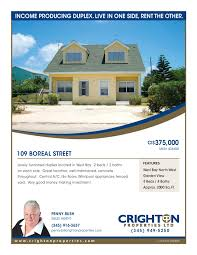 flyer crighton properties boreal steet