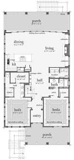 3 Bedroom 5 Bath Beach House Plan  ALP08CR  AllplanscomBeach Cottage Floor Plans