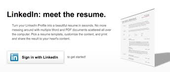 Create Professional Cv Linkedins New Tool Lets You Create A Professional Cv Offline