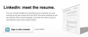 Linkedins New Tool Lets You Create A Professional Cv Offline