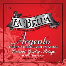 La Bella String Tension Chart Argento Series Hard Tension