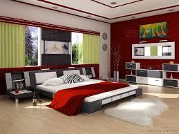 color design for bedroom. Image Of: Red Modern Bedding Color Design For Bedroom