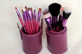 makeup brush holder cup. delicate caress travel brush set review makeup holder cup