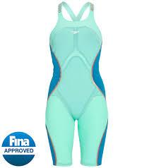 Speedo Pure Intent Size Chart Speedo Womens Lzr Pure Intent Closed Back Kneeskin Tech Suit Swimsuit