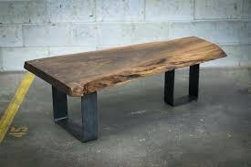 see through coffee table live edge black walnut coffee table design custom made with black walnut see through coffee table