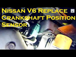 replace nissan 3 5l v6 crankshaft position sensor replace nissan 3 5l v6 crankshaft position sensor