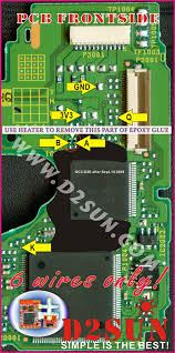 mod chips d2sun chip v3 0 for nintendo wii wiiclip shop01media 6 wires install diagram for v3 x on the epoxy d2e and d2c2 wii