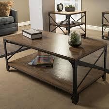 baxton studio greyson antique bronze 3 piece nesting end side table set