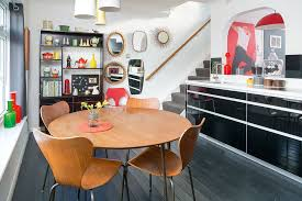 1960s dining table retro renovated 1960s terraced house real homes