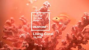 Pantone Names Living Coral 2019 Color Of The Year Print
