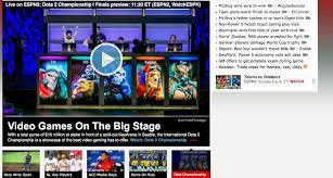 espn embraces esports broadcasts dota 2 championship the