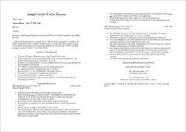 Social Worker Resume Templates Classy ☜ 48 Resume Format For Social Worker