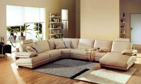 beige leather sofa living room ideas with modern lving room design
