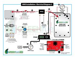 hho dry cell hydrogen generator green fuel efie mpg 12 plate cell included this auction is our vehicle wiring diagram installation video and easy to understand written instruction manual