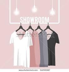 Hanger Style Coat Rack Vector Illustration Coat Rack Showroom Closet Stock Vector 100 35