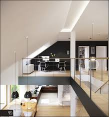 contemporary office cool office decorating ideas. Contemporary Modern Cool Office Designs Neutral Furniture Decorating Designing Custom Pendant Lighting Wall Mount Track Ideas
