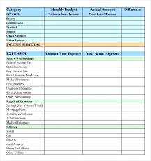Simple Monthly Budget Spreadsheet Spreadsheet App Spreadsheet App