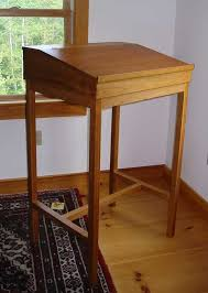 plans for standing desk awesome writing cherry stand up 8