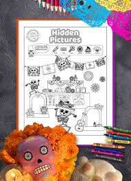 Solve complicated puzzles to travel in time together with alabama! Get The Funnest Day Of The Dead Hidden Pictures Game