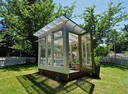 Studio Sprout 8x10 Greenhouse modern-shed