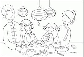 Small Picture Food Party On Chinese New Year Coloring Pages Holidays Coloring