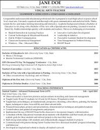 Arts Resumes Pin By Emily Hinkle On Career Spiration Teacher Resume