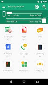 Download Backup Master Contact Apps Sms Call Log Backup 2 7 Apk